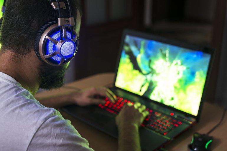 Gamer Computerspiele Lernen