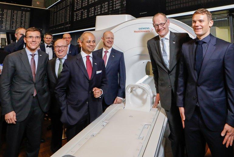 Siemens Börsenkurs