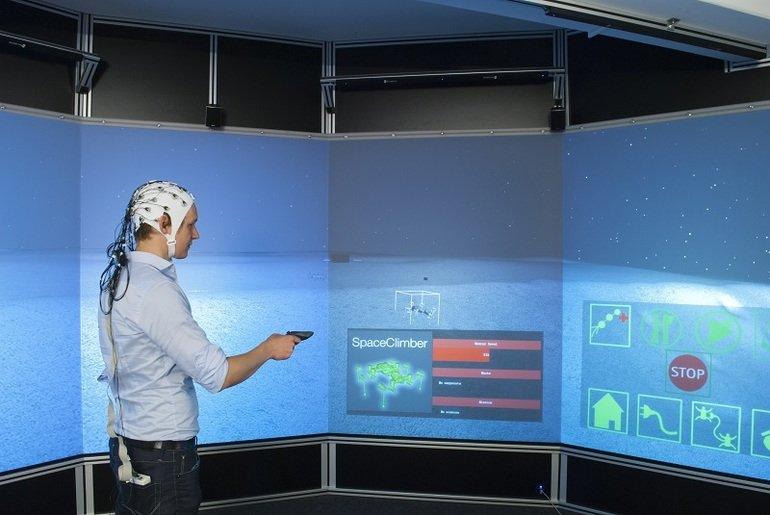 Gehirnaktivität Roboter