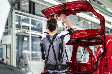 Exoskelette Industrie Ottobock