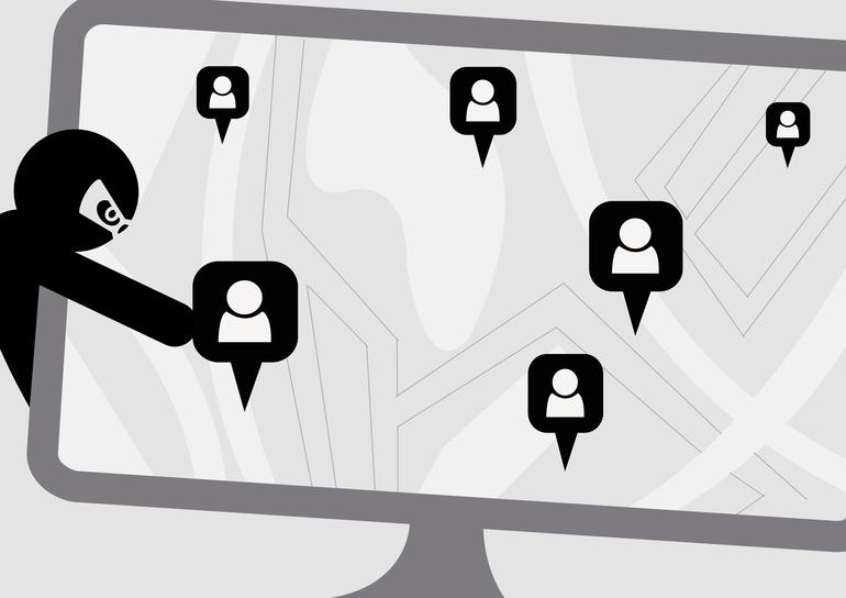 Tracker-Apps Überwachung