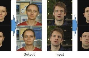 Gesichtsausdruck Lippenbewegungen