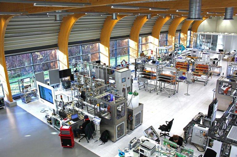 Smart Factory OWL Fraunhofer IOSB Industrie 4.0 Datenübertragung