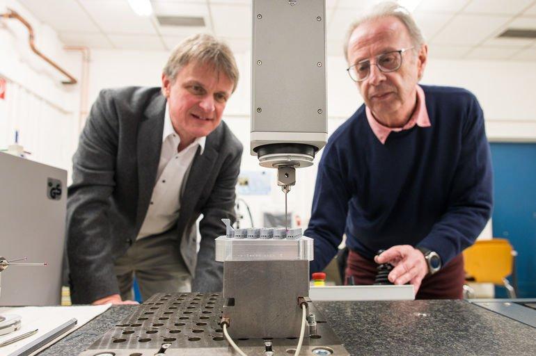 3D-Druck Nachbearbeitung Universität des Saarlandes