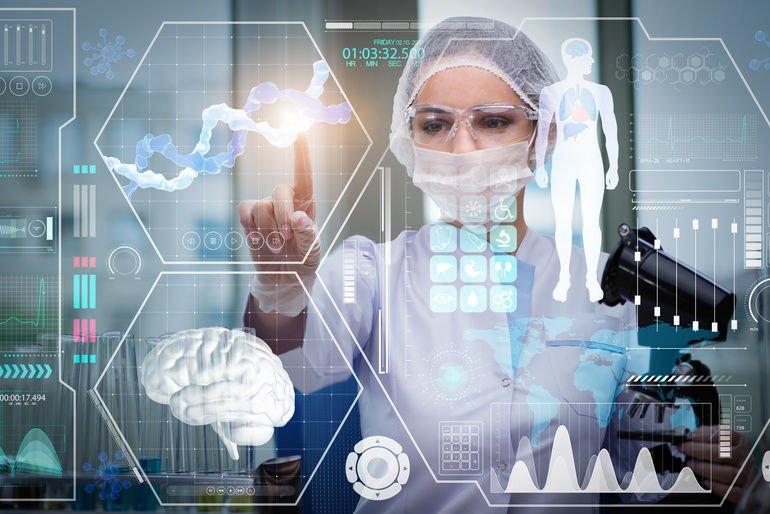 Doctor_in_futuristic_medical_concept_pressing_button