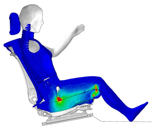 Pr ventive biomechanik virtuelle menschmodelle zur for Finite elemente in der baustatik