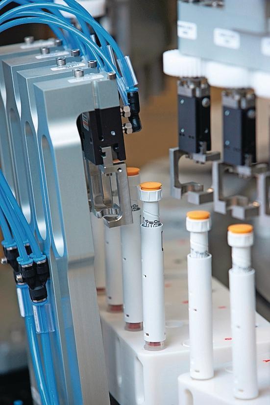 Montageplattform Vollautomatisch Bis Zu 70 Insulin Pens Pro