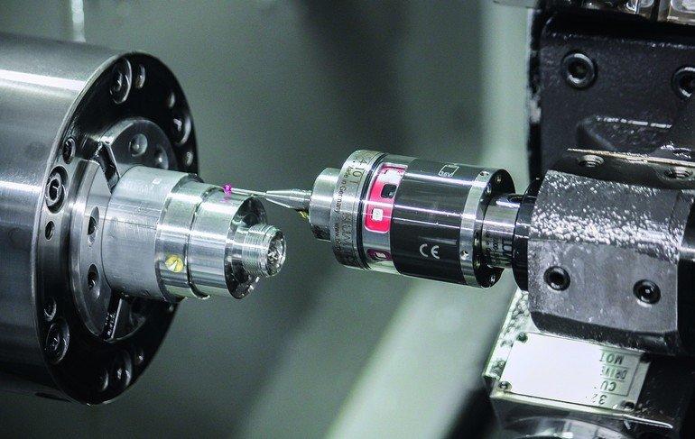 Fertigungsmesstechnik Robuster Taster Entlastet Bediener