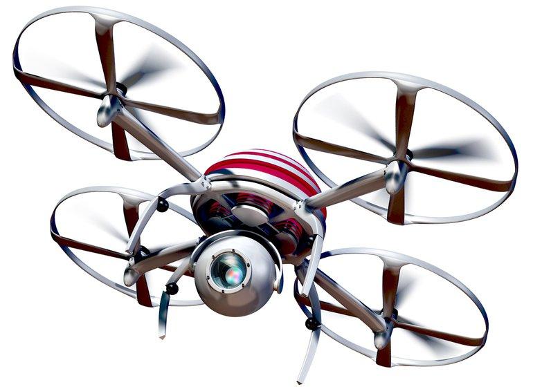 Drohne Fabriklayout