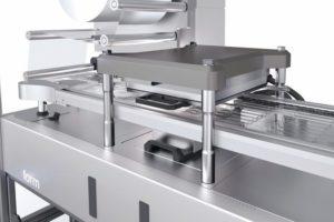 Flexibles Maschinenkonzept Koch Pac-Systeme Verpackung Reinraum
