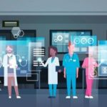 Group_Of_Medical_Doctors_Using_Digital_Monitor_Working_In_Hospital_Medicine_And_Modern_Technology_Concept_Flat_Vector_Illustration