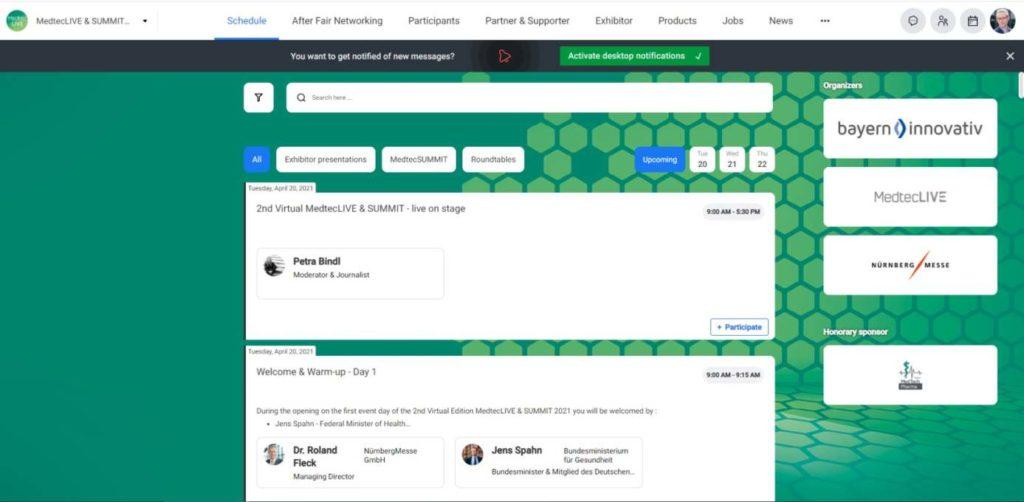 MTLS_Plattform MedtechLive und Summit
