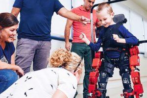 Roboter Reha Pflege