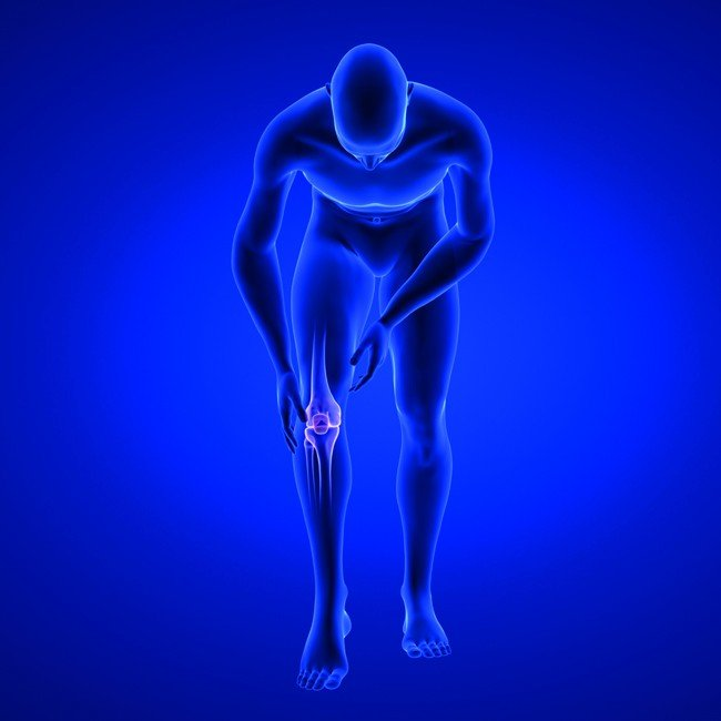 Knee_Pain._Blue_Human_Anatomy_Body_3D_scan_render_on_blue_background